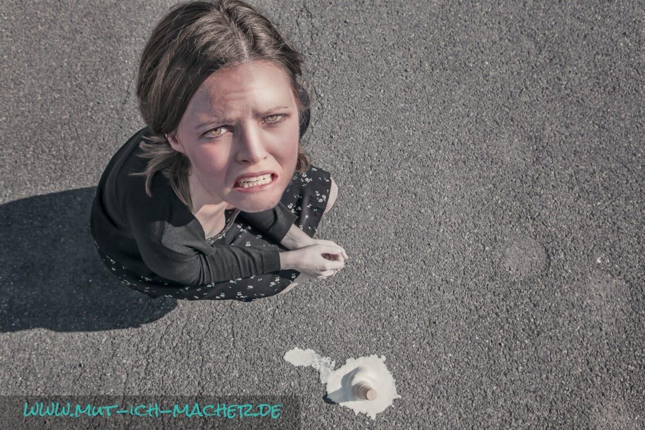 Hast du manchmal Schuldgefühle?